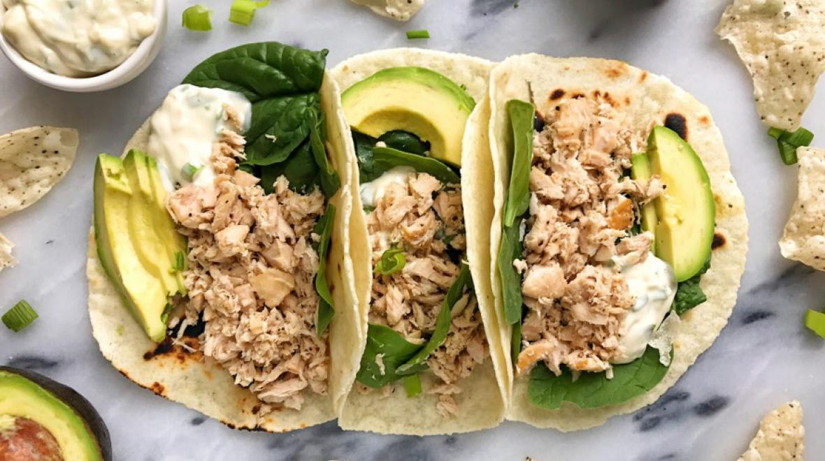 Easy Canned Tuna Tacos