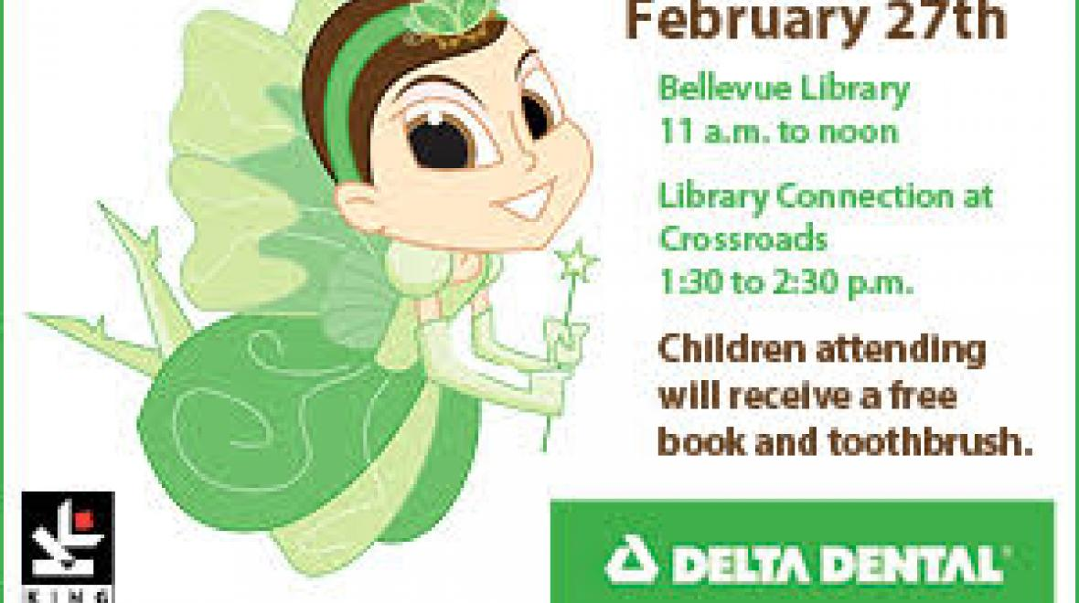 Children's Dental Health Month & National Tooth Fairy Day Story Time