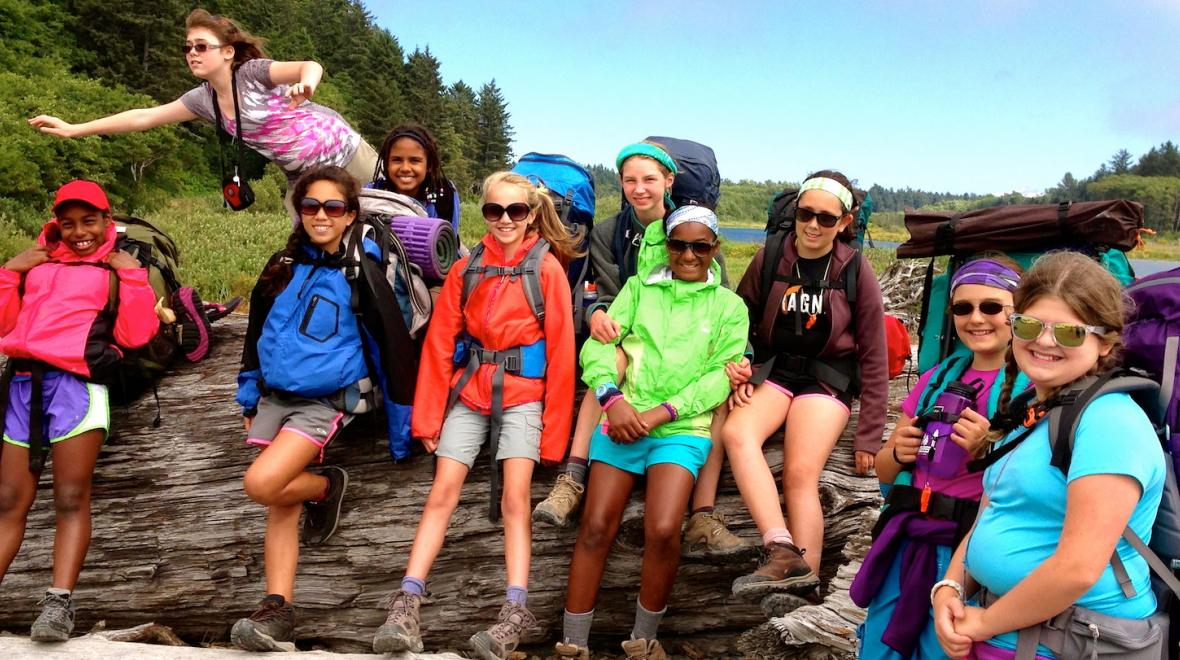 Alpengirl Teen Summer Adventure Camp for Girls