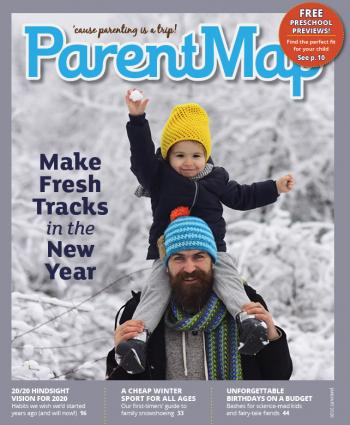 January 2020 issue of ParentMap magazine