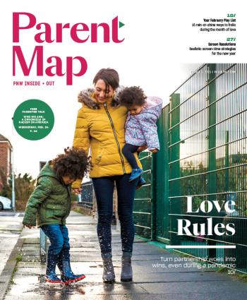 Cover of the February 2021 issue of ParentMap magazine