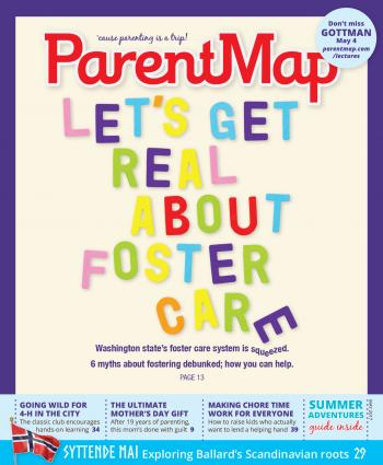 ParentMap Magazine May 2017 Cover Image