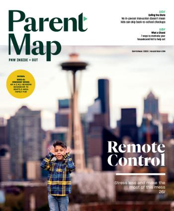 Cover of ParentMap September 2020 magazine issue