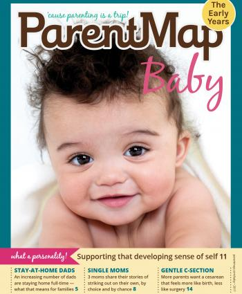 ParentMap Magazine Baby 2017 Cover Image