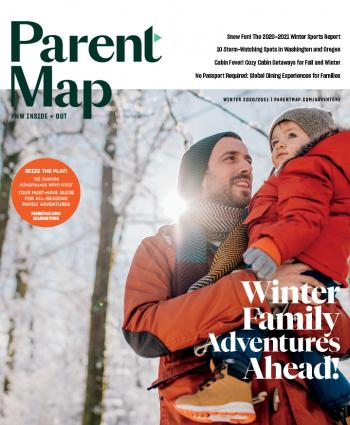 Cover image of the 2020 ParentMap Winter Family Adventure Guide