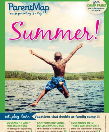 ParentMap Magazine Summer Guide: Summer Cover Image