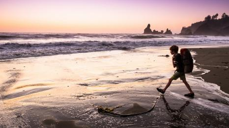 boy-backpacking-pacific-coast-beach-olympic-national-park-washington-every-kid-outdoors-park-pass-fourth-grade