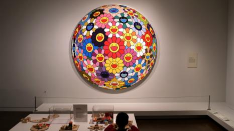New-SAAM-kids-activity-station-boy-in-front-of-Flower-Ball-in-gallery