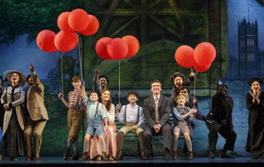 Finding Neverland production photo