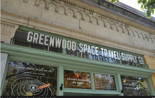 Greenwood Space Travel