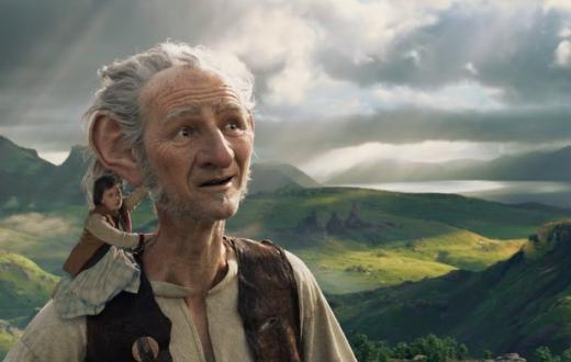 "Movie poster from ""The BFG"""