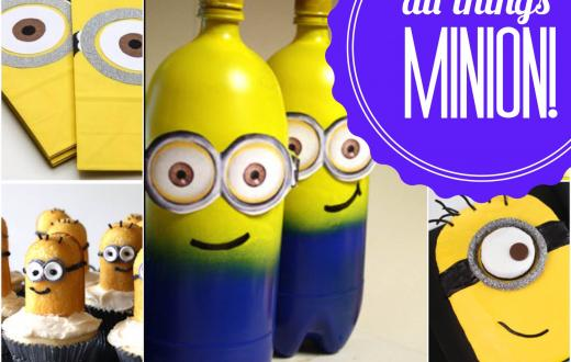 Minion party crafts