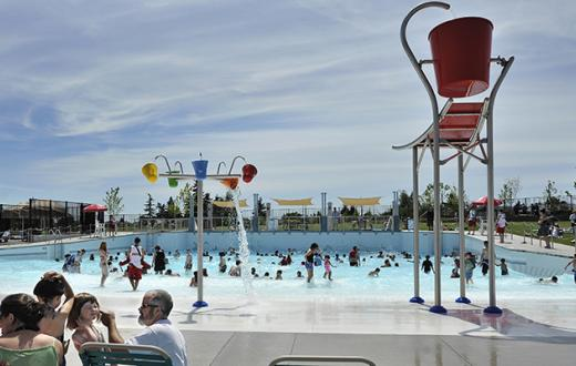 Seattle-area outdoor swimming pools