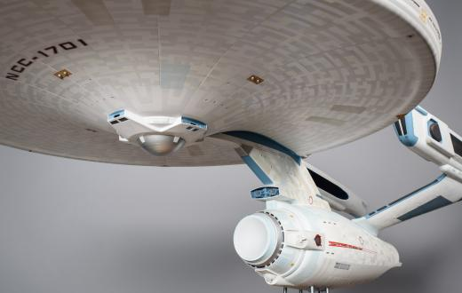 "The Enterprise from ""Star Trek"""