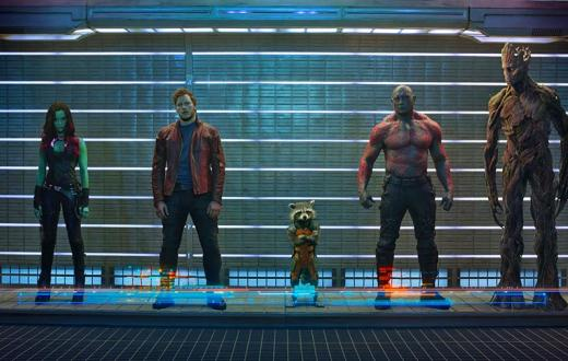 """Guardians of the Galaxy"" promotional photo"