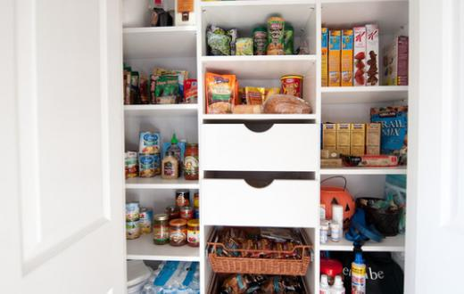 Organized kitchen from Houzz