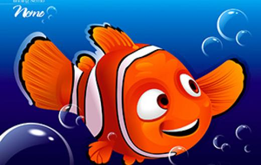 Nemo from the movie 'Finding Nemo'