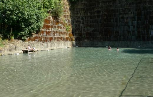 Tenino's quarry pool