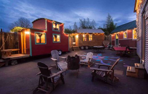 Tiny home hotels