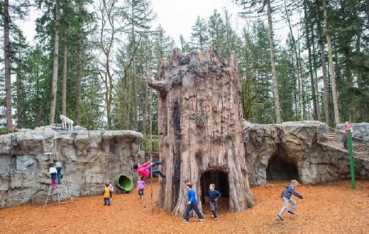 Kids' Trek playground