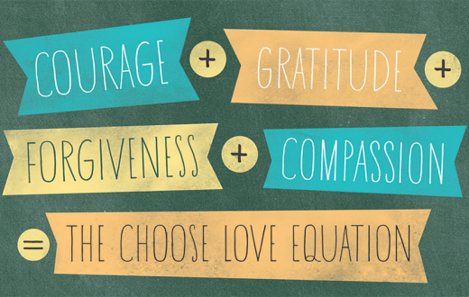 Choose Love equation
