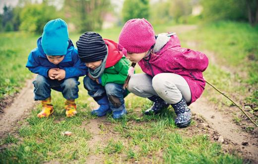 outdoor preschool kids