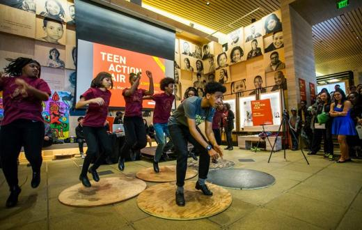 Teen Action Fair at Gates Foundation