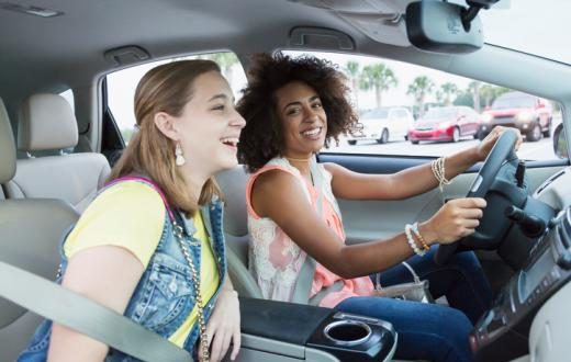 Teens driving