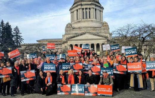The Alliance for Gun Responsibility in Olympia