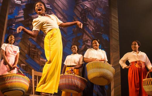 "Adrianna Hicks performs in ""The Color Purple"""