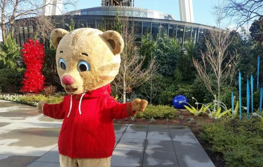 Meet Daniel Tiger for free in Bellevue, Bellingham and Yakima with KCTS 9