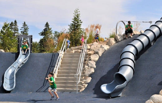 Jefferson Park one of Seattle's most adventurous exciting playgrounds