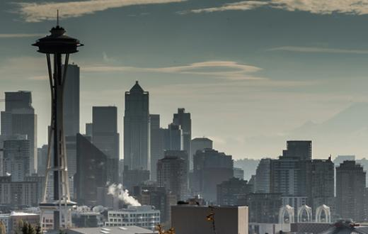 Hazy Seattle