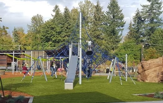 Covington Community Park new playground
