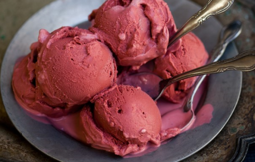 Salt & Straw blood ice cream creepy Halloween treat