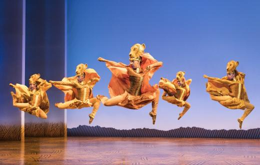 The Lion King North American Tour credit Deen van Meer