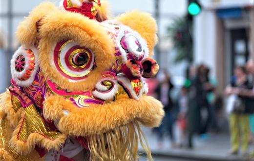 Lion dance at Lunar New Year 2019 events for families around Seattle, Bellevue and Tacoma