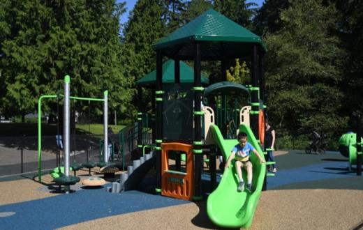 seaview park edmonds green slide
