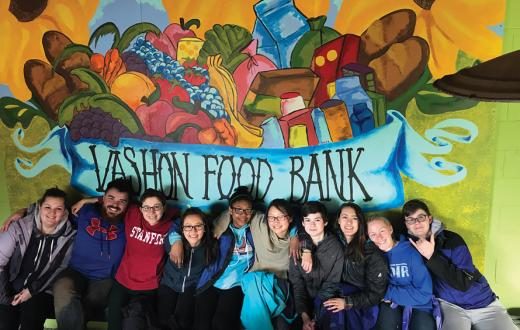 vashon food bank kids