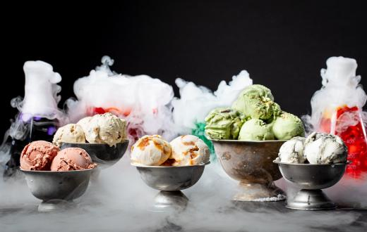 Salt & Straw blood and bug ice cream for Halloween