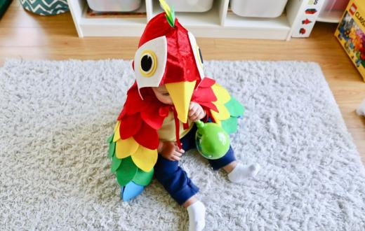 parrot halloween costume for tots