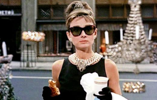 audrey hepburn in breakfast and tiffanys