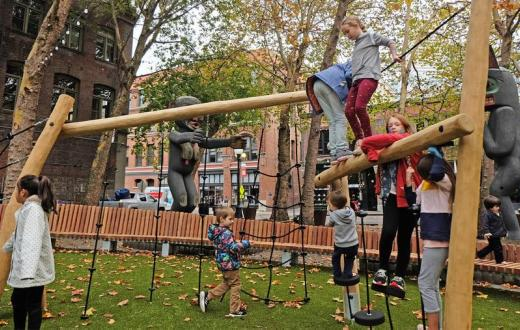 Occidental-square-new-play-area-fun-with-kids-Seattle-Pioneer-Square
