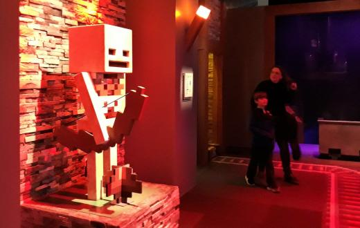 MoPOP Seattle Museum of Pop Culture Minecraft exhibit Mopop reopening September 2020