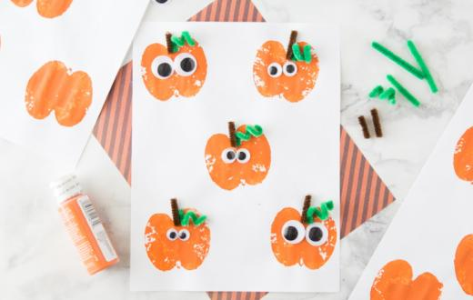 Apple-Jack-O-Lantern-craft