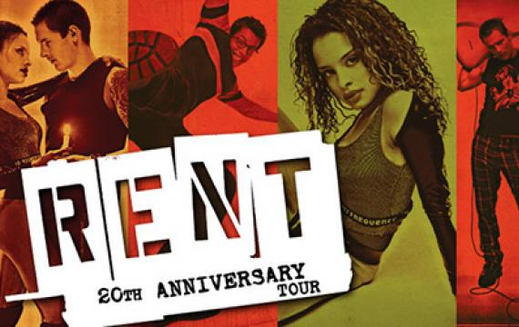 'Rent' 20th Anniversary Tour poster