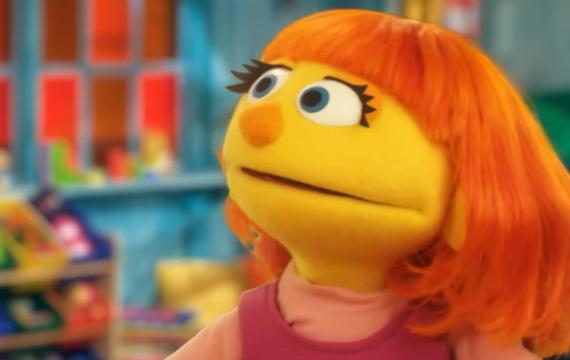 Julia of Sesame Street