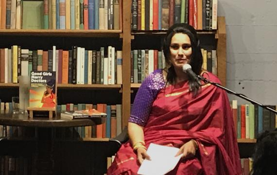 Author Piyali Bhattacharya at The Elliott Bay Book Company