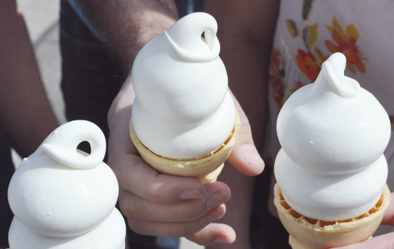 Dairy Queen soft-serve cones