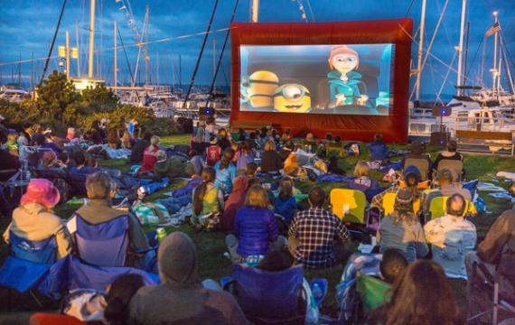 Movies at the Marina